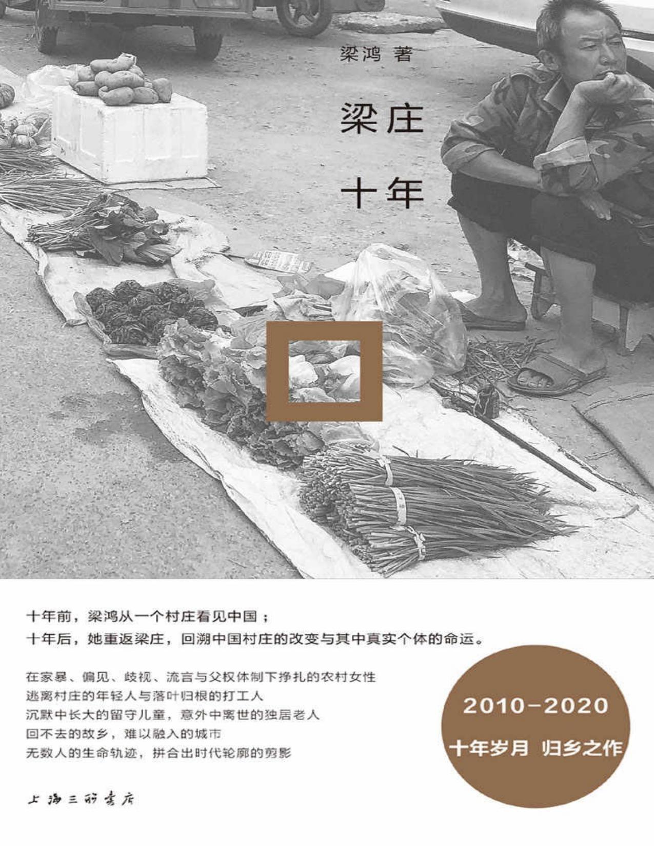 梁庄十年—梁鸿—pdf+mobi+epub+txt+azw3电子书下载
